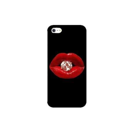 Coque Iphone bouche diamant