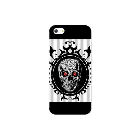 Coque Iphone squelette diamant baroque