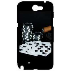 Coque Galaxy Note 2 poker