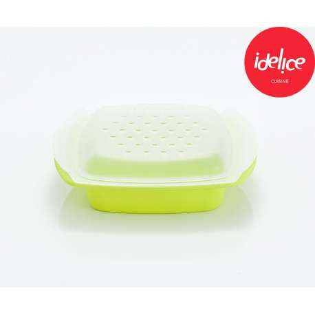 Idelice Papillote Saveur en silicone - vert anis