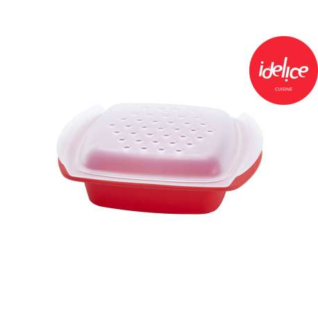 Idelice Papillote Saveur en silicone - rouge tomate
