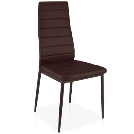 Lot de 8 chaises Stratus Marron