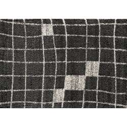 Tapis rectangulaire Parma Square Anthracite 160x230cm