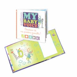 ALBUM MY BABY VOICE     - 20 x 20 cm Blanc