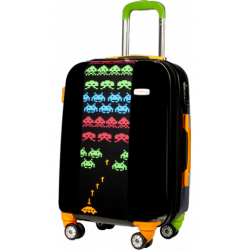 Valise polycarbonate Space Invaders