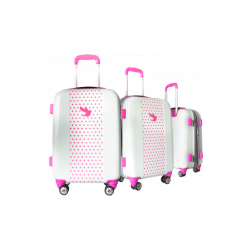 Valise polycarbonate Classic N°2 Pink