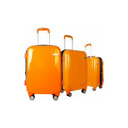 Valise polycarbonate Classic N°3 Orange