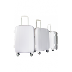 Valise polycarbonate Classic N°3 White