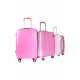Valise polycarbonate Classic N°3 Pink