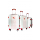 Valise polycarbonate Classic N°2 Red