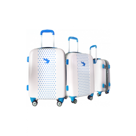 Valise polycarbonate Classic N°2 Blue