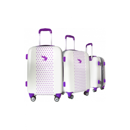 Valise polycarbonate Classic N°2 Purple