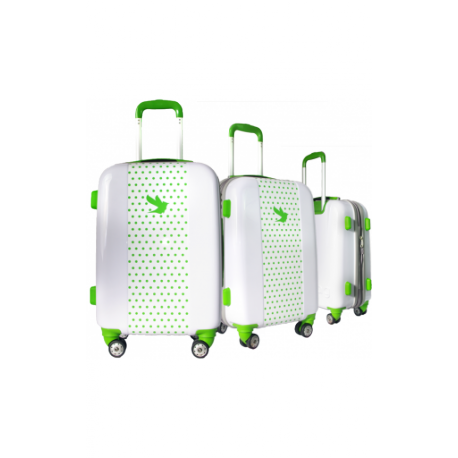 Valise polycarbonate Classic N°2 Green