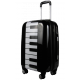 Valise polycarbonate Piano Blanc