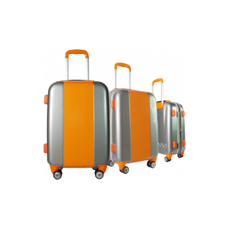 Valise polycarbonate Classic N°4 Orange