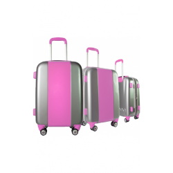 Valise polycarbonate Classic N°4 Pink