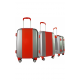 Valise polycarbonate Classic N°4 Red