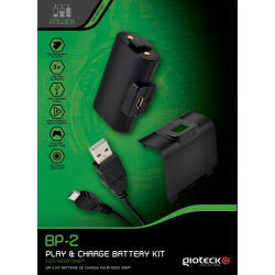 BP-2 Pour XBOX ONE: Play & Charge Batterie + Cable de Recharge de 3 mètres