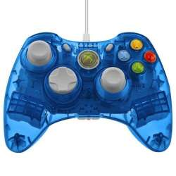 Manette Rock Candy XBOX360 Bleue (Sous Licence Officielle Microsoft)