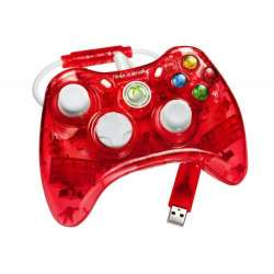Manette Rock Candy XBOX360 Rouge (Sous Licence Officielle Microsoft)