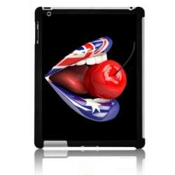 Coque Ipad bouche cerise London