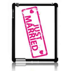 Coque Ipad just married